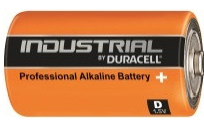 Duracell Industrial ID1300 1.5V D Alkaline Battery