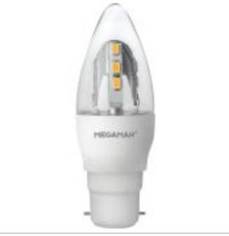 Megaman 143890, 5W Incanda-LED Candle Dimming B22 2400K