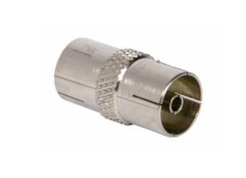 PHILEX 19017M Coax Coupler – Nickel