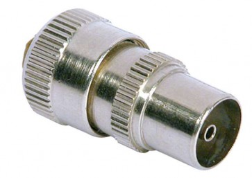 Brass Coax Plug