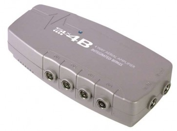 SLx 4-Way TV Signal Booster - 4G Compatible