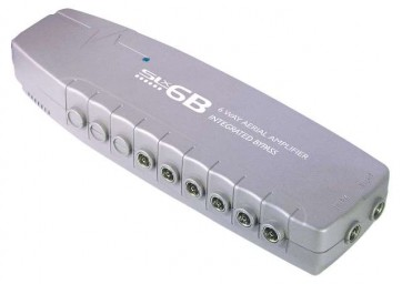 SLx Six Output Aerial Distribution Amplifier - 4G Compatible