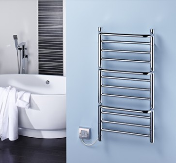 Dimplex CPTS 120W Compact Stepped Towel Rail Chrome