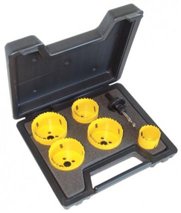C.K. Tools Hole Saw Kit 6 Pcs (424044)