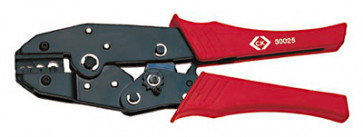 C.K Tools 430025 Pliers, Ratchet Crimping, for Non Insulated Terminals