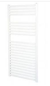 Vent - Axia 447856 Flat White towel rail VATRF250W
