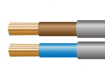 10.0mm² 6181Y Single Core PVC Insulated, PVC Sheathed Cable