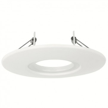 AU-AP600W White Fixed 85mm - 145mm Downlight Adaptor Plate for Aurora i10 Fixed LED Downlights