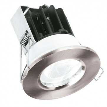 Aurora Lighting AU-FRLD811/40 220-240V IP65 Fixed 10W MV Dimmable LED Downlight Fire Protection 4000K