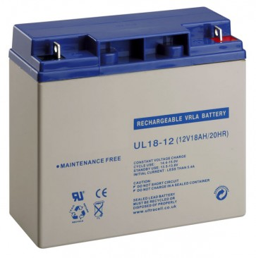 BAT18 12V 18AH Sealed Lead Acid Rechargeable Battery