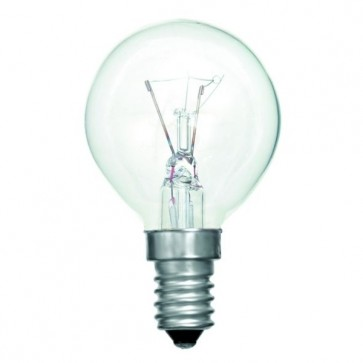 Bell Lighting 02433 40W G45 Round Oven Lamp 300 Degree (SES Clear)