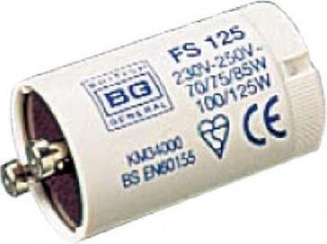 British General FS125 70, 75, 80, 85, 100-125 Watt Fluorescent Starter