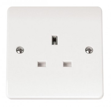 Scolmore CMA030 13A 1 Gang Unswitched Socket