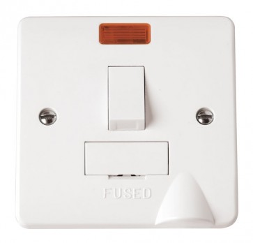 Scolmore CMA052 13A Switched Fused Connection Unit With Neon