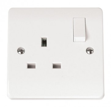 Scolmore CMA635 13A 1 Gang DP Switched Socket
