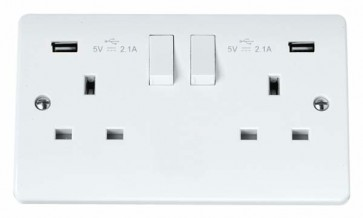 Scolmore CMA780 2 GANG SP 13 AMP SWITCH