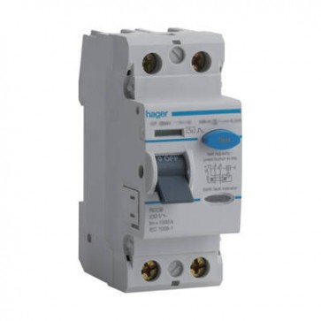 Hager CN284U 100A RCD 100mA Time Delayed