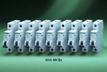 Crabtree 6HS63C Loadstar 63A Single Pole MCB Type C
