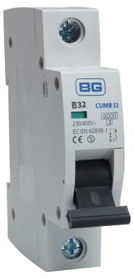 British General CUMB32 MCB, SP Type B, 32A 6kA