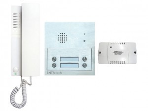 Channel Safety Systems D/ENT/AUDIO/4 ENTRitech Kit - 4 way surface mounted audio with embedded intercom