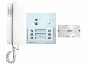 Channel Safety Systems D/ENT/AUDIO/6 ENTRitech Kit - 6 way surface mounted audio with embedded intercom