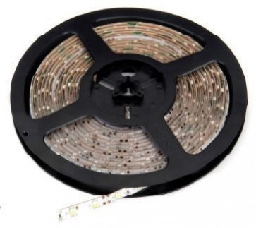 Deltech LST66RGB 5M Roll Flexi LED Strip 12V 60LED/M IP65 Daylight, 7.2W Per Metre