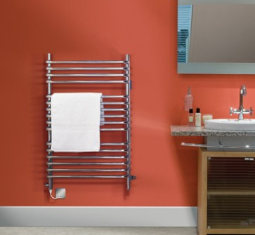 Dimplex BR150C 150W Dual Fuel Ladder Style Towel Rail Chrome