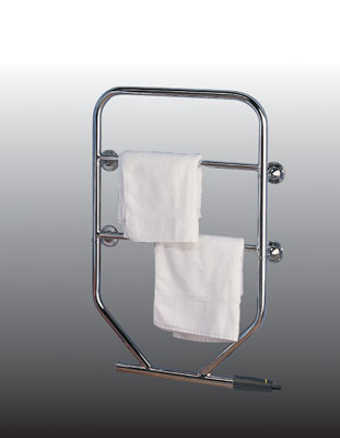 Dimplex TTRC150 120W Water Glycol Filled Electric Towel Rail Chrome