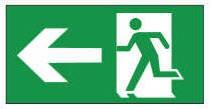 Channel Safety Systems E/LX/PIC/AL Lumen Ex Pictogram Arrow Left