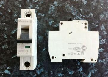 Eaton Moeller FAZ-C10 MCB 10 amp 10ka SP Type C MCB