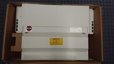 Wylex F43NMISS10SLM 10 Way 100A Dual RCD 430mm Metal Skeleton Unit