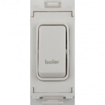 Schneider GUG20DPBOW Ultimate 2 Pole 1 Gang Switch Module (Boiler)