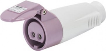 GEWISS GW62064, Connector, Extra Low Voltage IP44 2P, Size: 16A 24V