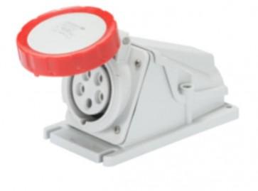 Gewiss GW62505 Socket, Low Voltage Watertight Surf 3P+N+E, Size: 16A 380V