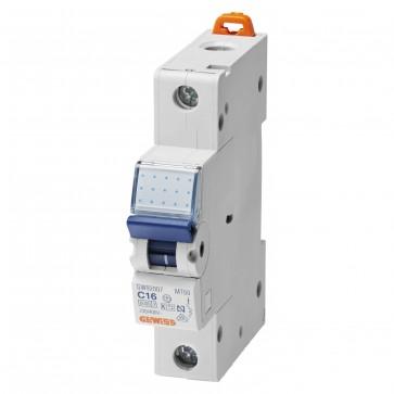 Gewiss GW92209 1 Pole 25A 1 Module Miniature Circuit Breaker