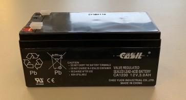 VT12012 12V 1.2AH Sealed Lead Acid Rechargeable Battery