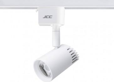 JCC JC14222WH Starspot 600 Mains Dimmable IP20 Track Spotlight LED 7W 3000K 580lm 36° White