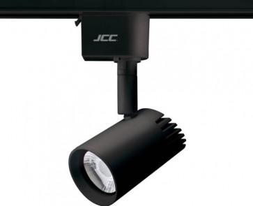 JCC JC14222BLK, Starspot 600 Mains Dimmable IP20 Track Spotlight LED 7W 3000K 580lm 36° Black