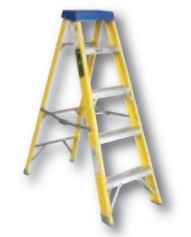 Greenbrook LADF6 FIBREGLASS LADDERS, No of Steps: 6