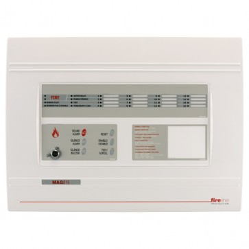 MAG816 - 8 Zone Fire Panel expandable to 16 zones