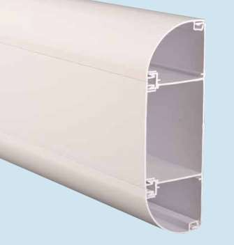 Marco ME3 Elite 3 Compartment CAT5/6/7 Data Trunking, 3m x 175mm x 60mm
