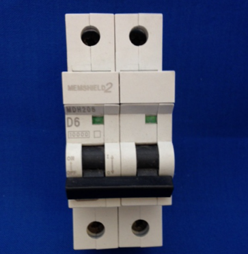 Eaton MEM MDH206 6A Type D 2Pole MCB Memshield 2