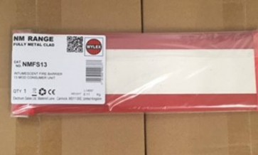 Wylex NMFS13 Fire Barrier, Intumescent 13 Mod Consumer Unit