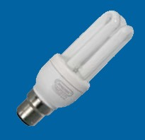Omicron OMC0105 5W B22 Compact Fluorescent Lamp 2700K