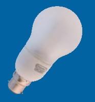 Omicron OMC8507 7W B22 Compact Fluorescent Lamp Energy Saving Compact GLS 2700K