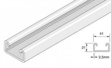 Unistrut Channel P3300X3, LENGTH 3 metre