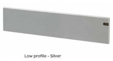 Schneider Electric GSLPH600WS 600W Low Profile Panel Heater Silver