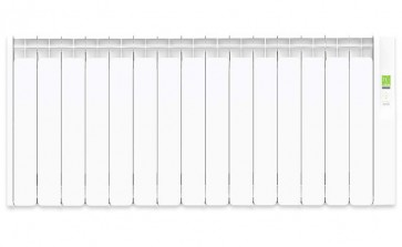 Rointe KYROS KRI1600RAD3 1600W White Oil Filled Digital Electric Radiator 1330mm x 580mm