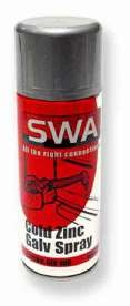 SWA GLV400 Cold Zinc Galv Spray 400ml