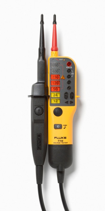 Fluke T110 Voltage and Continuity Tester With Switchable Load (Fluke T110)